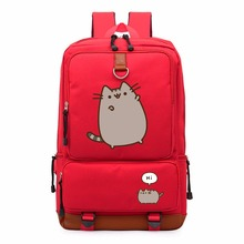 Pusheen Cat cute unicorn backpack schoolbag casual backpack teenagers Men women's Student School Bags travel Shoulder Laptop Bag