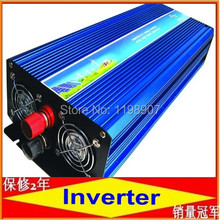 Pure sine wave inverter 2000W 110/220V 24/24VDC, CE certificate, PV Solar Inverter, Power inverter, Car Inverter Converter(China)