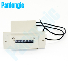 Panlongic 6-Digital Electromagnetic Counter Packing Machine Counter Blister Counter DC24V AC110V AC220V