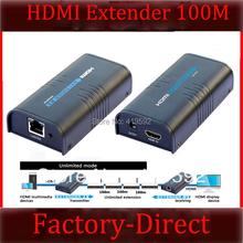 Extra receiver for LKV373 V2.0 HDMI extender TCP/IP compliant up to 120M supports 1 sender to N receivers