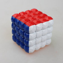 4*4*4 70mm Colorful Spinner Magic Cubes Ball Kids Puzzle Education Toys(China)
