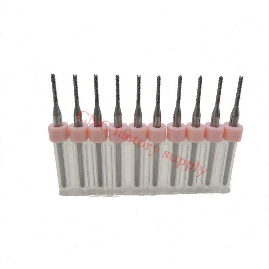 Hot sale10pcs PCB milling cutter 1.4mm fish tail milling cutter corn milling cutter tungsten carbide mini end mill engraving CNC<br><br>Aliexpress