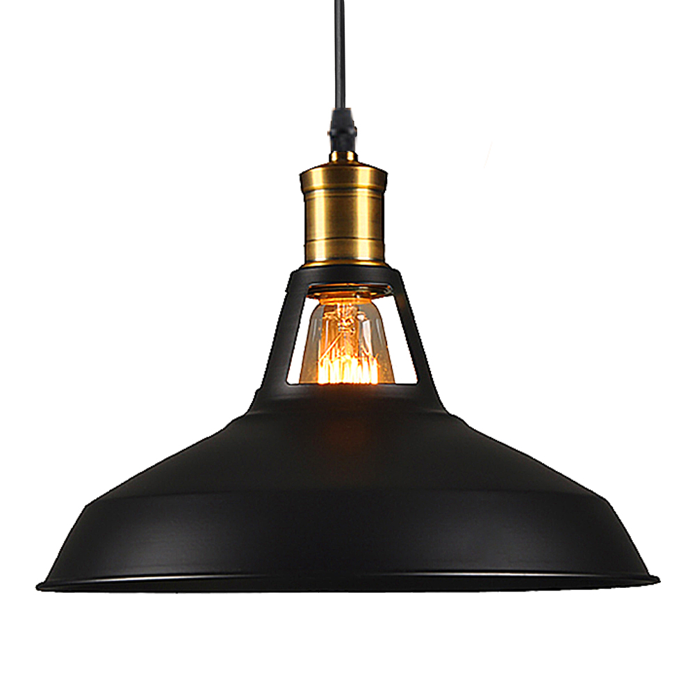 Loft Vintage Pendant Lights Retro Pendant Lamp  Industrial Retro Hanging Lampshade Pendant Lamps For Home Decor Restaurant /Bar<br>