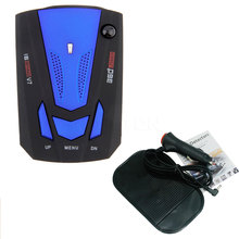NEW Car Detector 360 Degree Anti Police Radar Detector V7 For Car Speed Limited GPS Radar Detector(China)