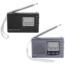 Portable Mini Radios FM/MW/SW Receiver with Digital Alarm Clock FM Radio Receiver New Arrival Radio