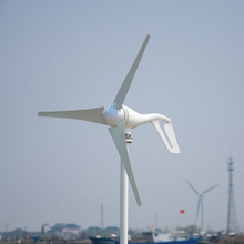 Wind turbine generator 400w rated. 400W windmill generator with 3 PCS blades. ROHS, CE, ISO9001 approval.(China)