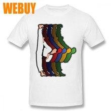 11b2513abe0 Vintage Design Karate Martial Arts KickerTee Shirt Men 3D Print Round  Collar Short Sleeve 100%