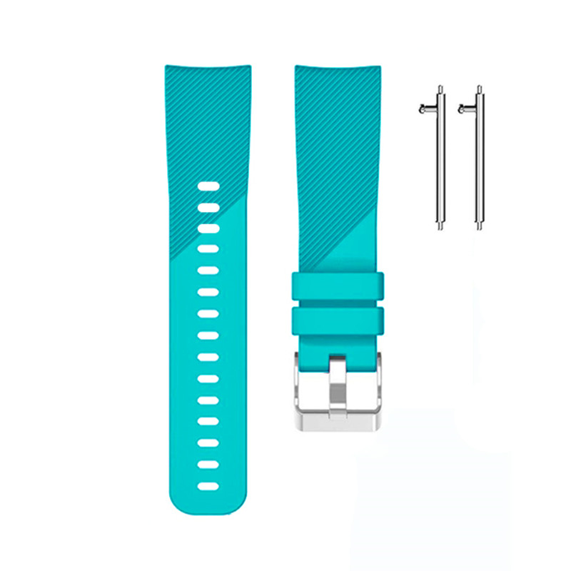 1Pcs Replacement Wrist Band Strap  For Garmin Vivoactive 3 For Samsung Gear Sport S4 Sports Accessories 14 Colors