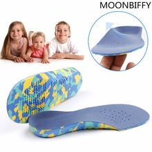 Children Orthotic Insoles Flat Foot Arch Support Orthotic Pads Correction Health Feet Care Insole O/X Type Leg Orthotic Insoles