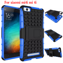 For Xiaomi Mi4i Phone Case Heavy Duty Armor Kickstand Hybrid Hard Composite TPU ShockProof Cover For Xiaomi Mi4i Mi 4i M4i M 4i