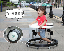 Protable folding baby walker andador para bebe playing car toy infant walkers bike foldable rocking chair correpasillos bebe