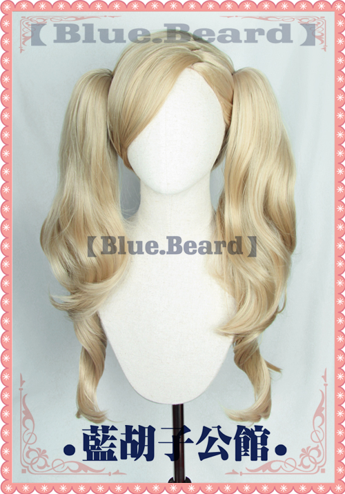 Persona 5 Ann Takamaki Cosplay Wig Halloween Role Play Base Wig + Ponytail P5 Comic Concert Cos