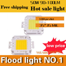 20w 30W 50w 70W 100W LED CHIP  Integrated High Power Lamp Beads White/Warm White 90-100m/W  32-34V 35*35mil Taiwan Epileds Chip