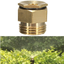 New 10Pcs 360 Degrss Garden Sprinkle Connector Thread Water Sprinkler Irrigation Spray Nozzle Watering Head Brass Supplies