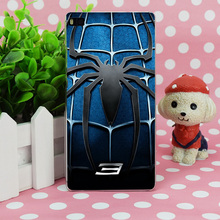 B3551 Spider Man 3 Blue Chest Transparent Hard Thin Case Skin Cover For Huawei P 6 7 8 9 Lite Plus Honor 6 7 4C 4X G7(China)