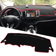 Buy LHD KIA Sportage 3rd 2011 2012 2013 2014 2015 Car Dashboard Mats Protector Covers Shade Cushion Auto Interior Accessories for $16.49 in AliExpress store