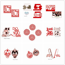 21 patterns 2017 New Design Customized Dies Cut decoration gifts Practice Hands-on DIY Scrapbooking Album DIY Scrapbooking die