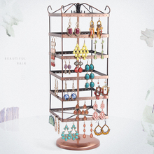 A155 Hot sell Earring rack Earrings stud earrings bracelets holder frame, 6 layers, each layer of 48 hole  A total of 288 booths