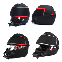 2017 Motorcycle helmet bag / motorcycle Multifunction tail bags / motorcycle tail box/motorcycle Top case / Motorbike helmet bag(China)