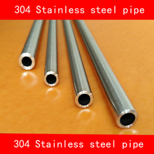 304 Stainless steel pipe outer diameter 4mm wall thickness 0.5mm length 200mm(China)