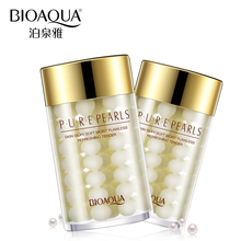 BIOAQUA Brand Skin Care Pure Pearl Sleeping Face Mask Depth Replenishment Moisturizing Oil-control Whitening Facial Essence Mask(China)