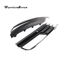 WarriorsArrow Pair Front L R Bumper Fog Light Cover Lower Grille For Audi A3 A3 Quattro SEDAN 2013-2017 8V5807681A 8V5807682A(China)