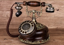IDS-8520 fashioned rotary table telephone antique vintage dial telephone(China)