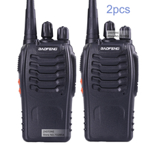 2 PCS Baofeng BF-888S Walkie Talkie 5W Handheld Two Way Radio bf 888s UHF 400-470MHz Frequency Portable CB Radio Communicator(China)