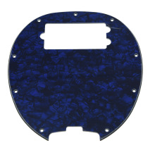 KAISH  Bass Pickguard MusicMan Stingray MM4 Scratch plate for Music Man MM2 4 String Guitar Parts   Blue Pearl