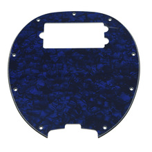 KAISH Bass Pickguard MusicMan Stingray MM4 Scratch plate for Music Man MM2 4 String Guitar Parts Blue Pearl(China)