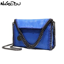 Buy 2017 New Women Message Bag Fashion Chains Crossbody bags Woven's Shoulder bag bolsa feminina carteras mujer stella handbags for $22.80 in AliExpress store