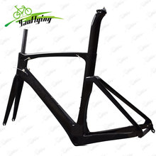 Newest carbon road bike frame cross carbon frame accept customized painting bicycle parts Bicicleta Carbon Bike Frame(China)