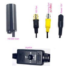 Surveillance equipment security 3G SDI waterproof bullet  camera 1080 50i or 60i Full HD 2.2MP with OSD Menu cable