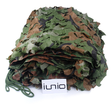 2M*3M Polyester Material+Nylon Strap Car Drop Hidding Cover Military Exercise Military Camouflage Camo Net Camping Hunting Cover