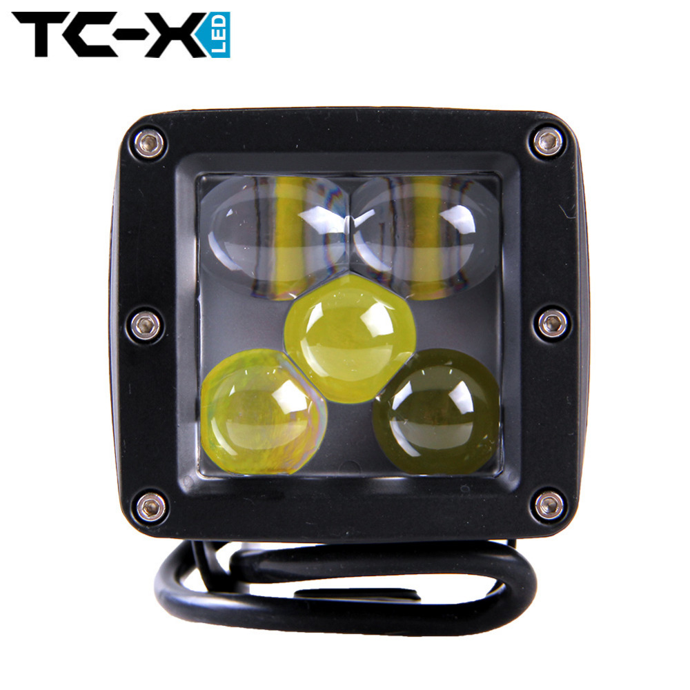 TC-X Car Stying LED Work Light 25w 100% Waterproof Spot Light Suv Tractor Offroad Truck External Light for Boating Hunting Fish<br><br>Aliexpress