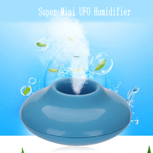 Mini USB UFO Humidifier Air Purifier Aroma Diffuser Office Home Car Portable(China)