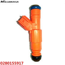 MALUOKASA Car Fuel Injector For Bosch Upgrade 4 Holes For Jeep Cherokee 1999 4.0L EV6 19LB 0280155917 High Flow Auto Replacement(China)