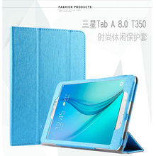 Case for Samsung Galaxy Tab A 8.0 T350 T355C P350 P355C, GARUNK Magnetic Flip Protective Leather Stand Cover Tablet Accessories(China)