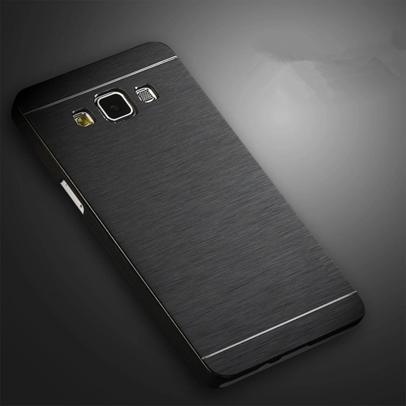 Motomo Aluminum Metal Armor Brushed Cover Case Samsung Galaxy S8 Plus S6 S7 Edge Note5 A3 A5 A7 J2 J3 J5 J7 2016 2017 Prime