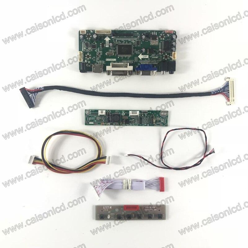 LCD controller board support HDMI DVI VGA AUDIO for20 inch 1600X900 LCD panel M200FGE-L20 LM200WD3 TLF2 TLF1 TLC7 M200RW01 V6 <br>