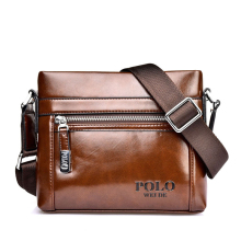 Polo 2016 men messenger bag famous brand design shoulder leather briefcases men bag business Vintage Mens crossbody bag for men