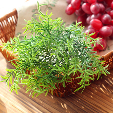 2016 New Green Grass Artificial Plants For Plastic Flowers Household Store Dest Rustic Decoration Clover Plant Wholesale