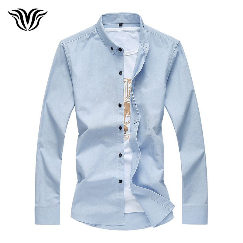 4XL 5XL 6XL 7XL Large Size Business Casual Long Sleeve Shirt 2018 Autumn Fashion Men's Cotton Embroidered Shirt