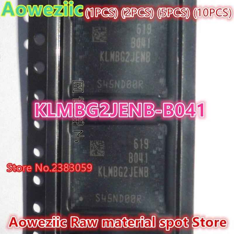 Aoweziic  (1PCS) (2PCS) (5PCS) (10PCS)   100% new original    KLMBG2JENB-B041  BGA  Memory chip   KLMBG2JENB B041<br>