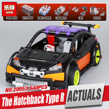 Lepin 20053 & 20053B Genuine Technic Series The Hatchback Type R Set MOC-6604 Building Blocks Bricks Educational Toy Gift Model(China)