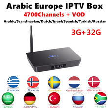 Buy Arabic IPTV Android 7.1 TV Box X92 4K H.265 32G Swedish IPTV Subscription Nordic Persian Russian Germany PayTV Smart IP TV Box for $104.25 in AliExpress store