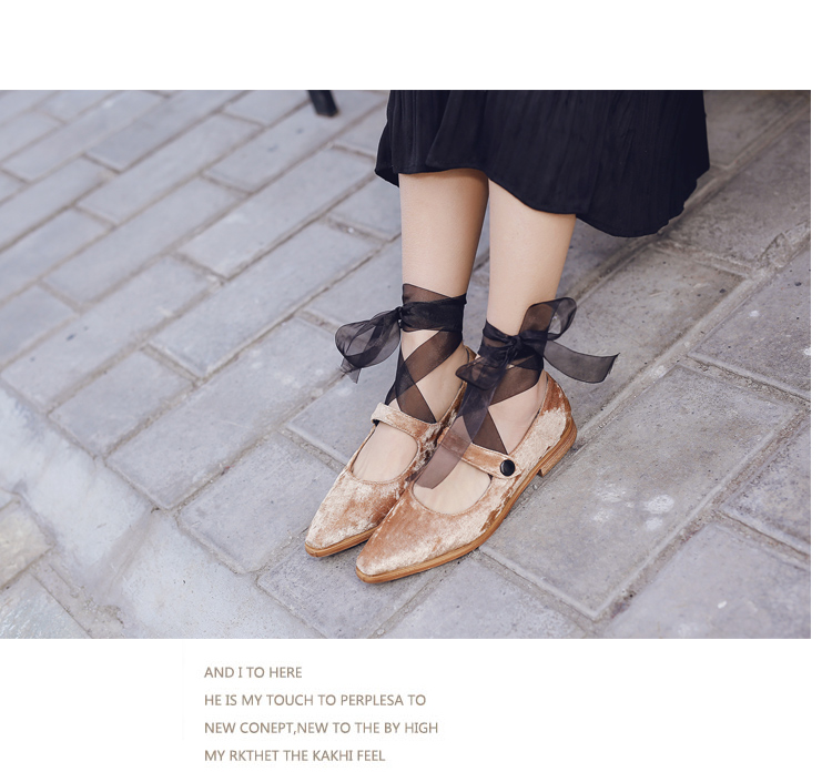 new ladies shoes Butterfly-knot Cross-tied Mary Janes woman shoes designer shoes women luxury 2017 zapatillas mujer casual flats