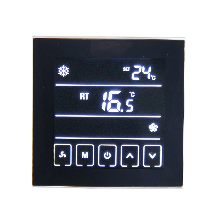 Touch Screen Room Thermostat Temperature Controller Thermoregulator Air Condition T901
