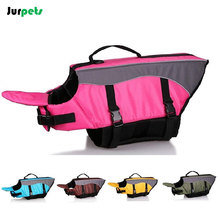 Pet Clothes Waterproof Dog Life Jacket Swimwear Safety Clothing Reflective Durable Dog Swimsuit(China)