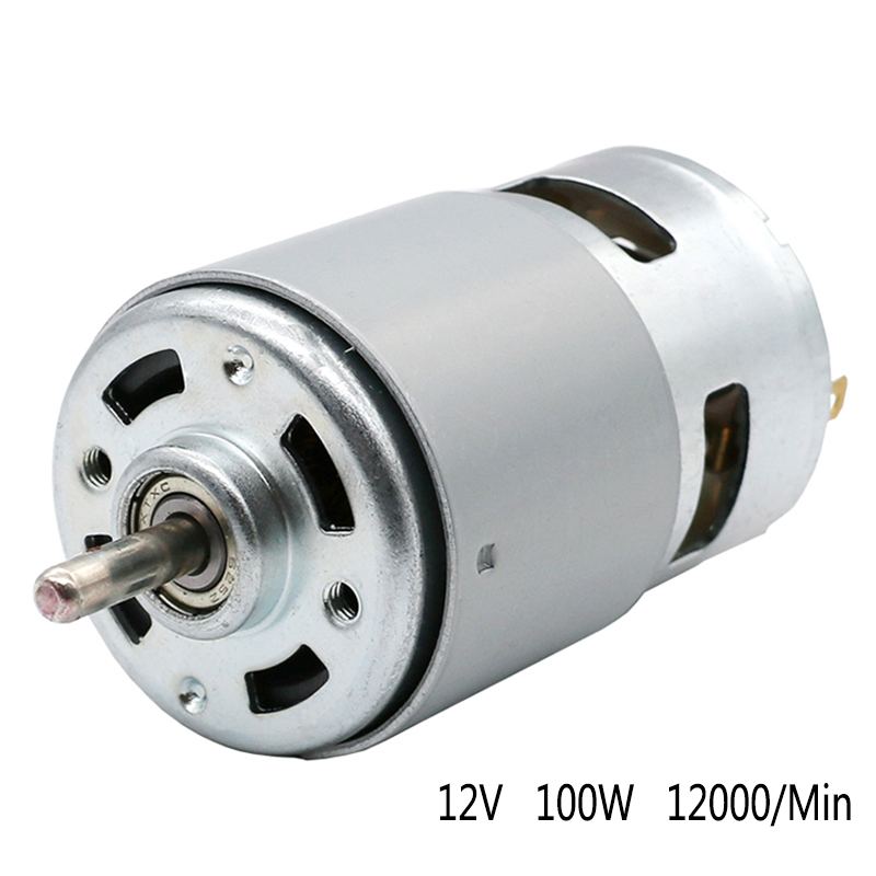 DC12V 100W 1200RPM High power torque Electric grinder drill chuck 775 Motor Electric fans, toy, vacuum cleaner etc.